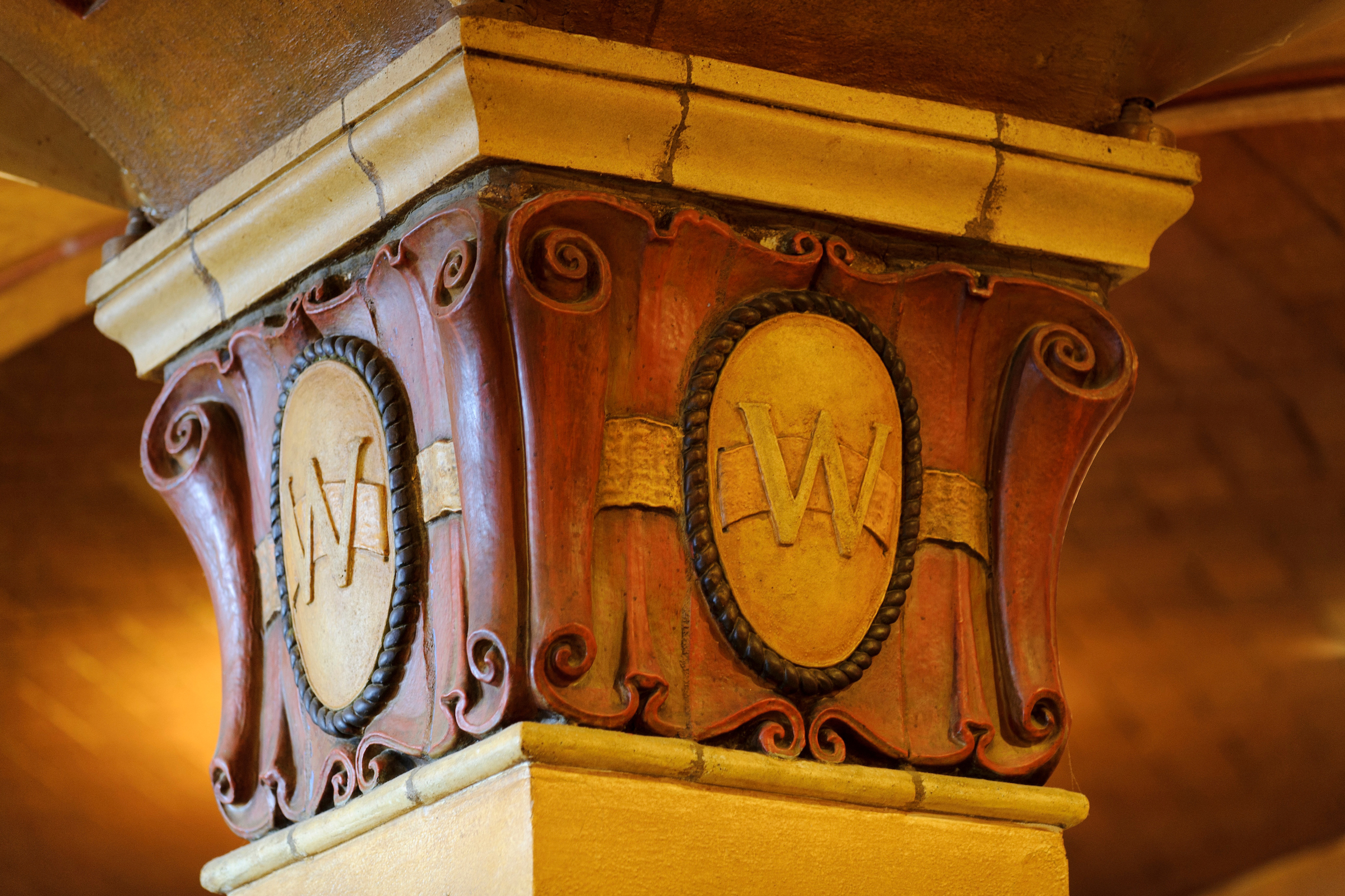 architectural details in the Memorial Union's Der Rathskeller