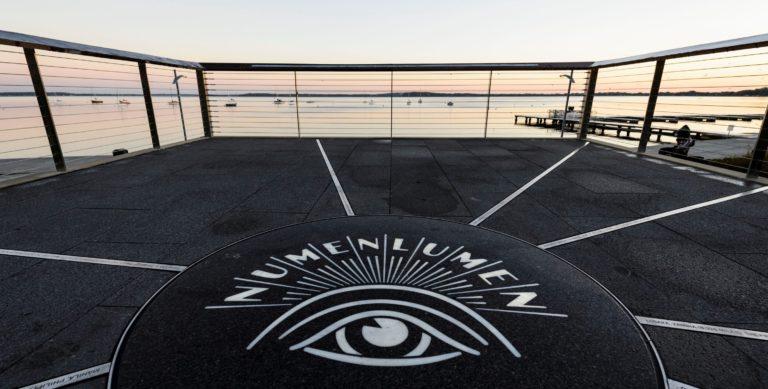 alumni park numen lumen logo