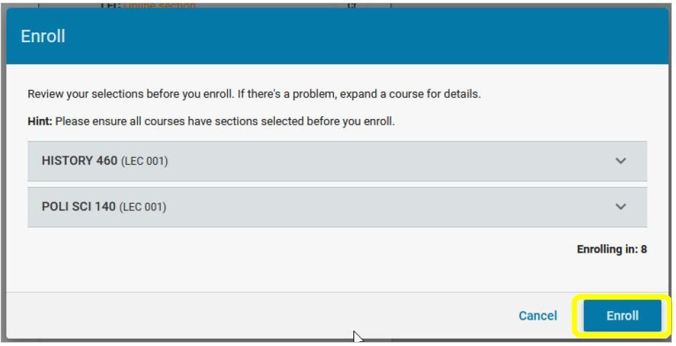 verify enrollment screenshot